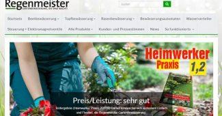 Regenmeister - Gartenbewässerung