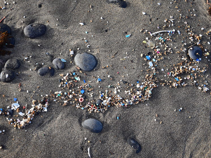 Ein 18-Jähriger beseitigt Mikro-Plastik