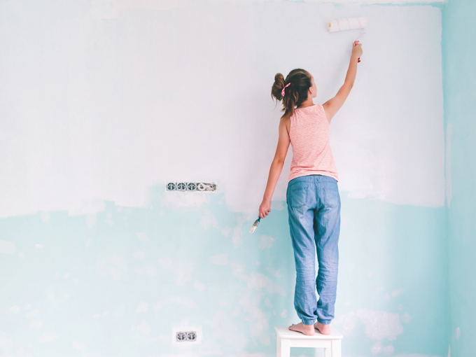 Nachhaltige Wandfarben sorgen für Chemiewende