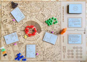 K2 Brettspiel: Pioneer City